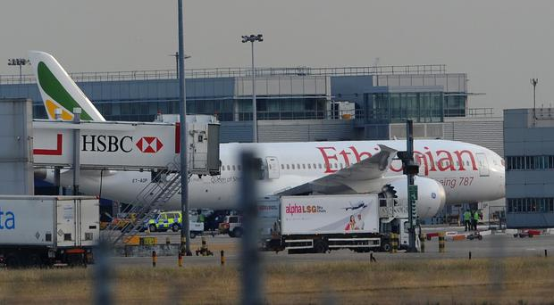 The Ethiopian Airlines Boeing 787 Dreamliner caught fire due to trapped battery wires, according to the report