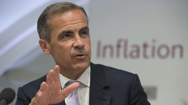 Mark Carney said earlier this month that the likely timing of a rate hike was