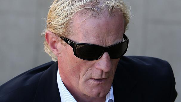 Former Scotland football captain Colin Hendry pleaded guilty to sending unwanted text messages and emails