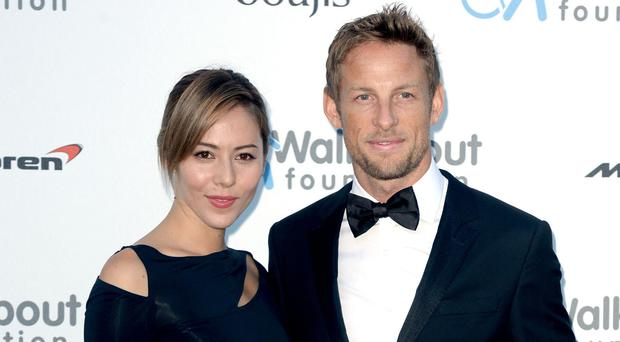 Jenson Button and his wife Jessica were burgled on holiday in St Tropez