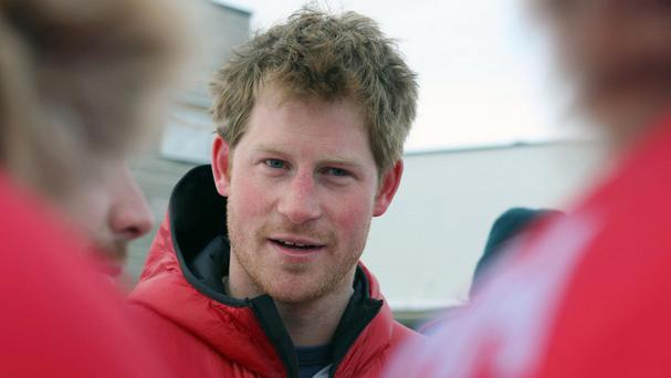 Prince Harry is supporting the charity walk