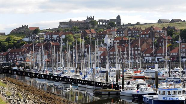 Whitby is one seaside resort to benefit from the scheme