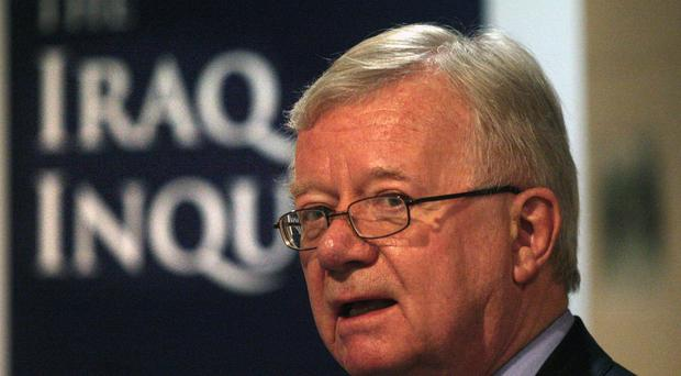 Chairman of the Iraq Inquiry Sir John Chilcot