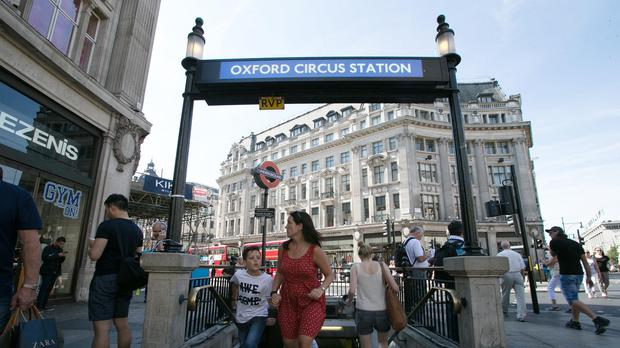 Oxford Circus Underground station was temporarily shut today because it did not have enough staff.