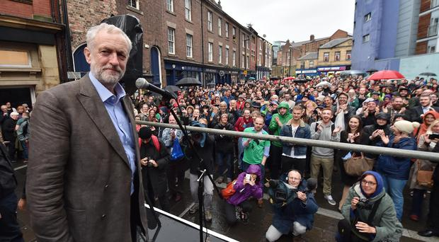 Jeremy Corbyn said he would look at the gap in every organisation between the highest and lowest levels of pay