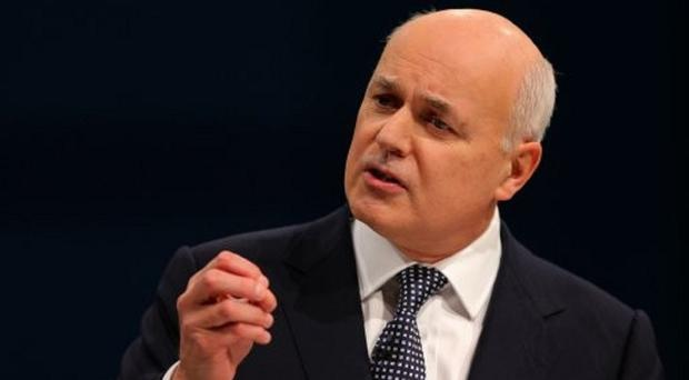Iain Duncan Smith said too many people with 'common' mental illnesses are reliant on state payouts.
