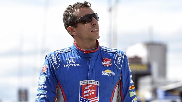Justin Wilson was injured during the race at Pocono and airlifted to hospital (AP)