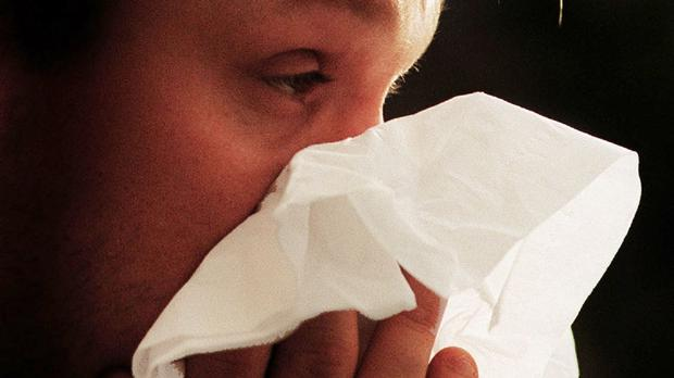 People who sleep six hours or less a night are four times more susceptible to colds, research shows
