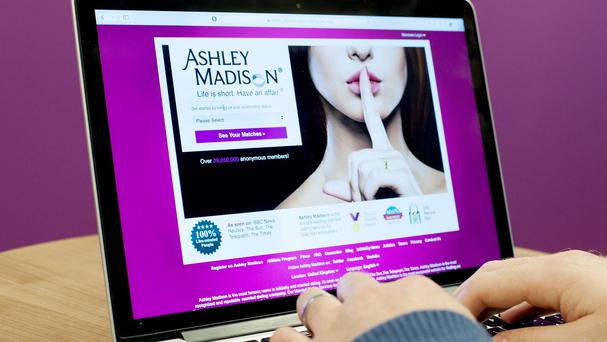 The Ashley Madison website was hacked