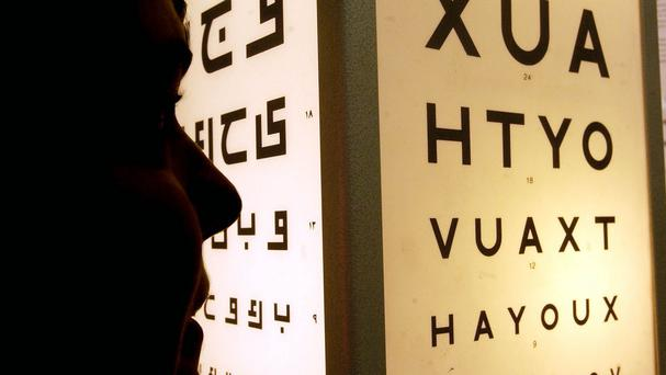 Eye tests also look at the health of the eye
