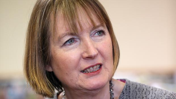 Harriet Harman will speak to the four candidates