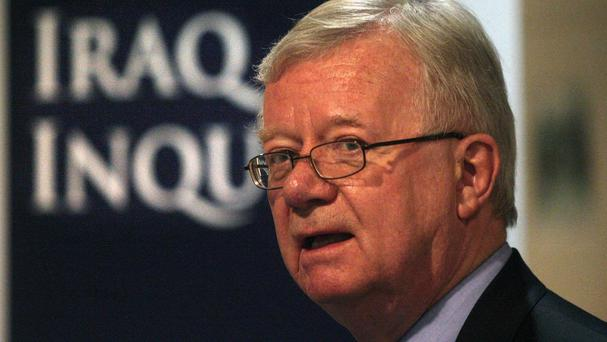 Sir John Chilcot is chairman of the Iraq Inquiry