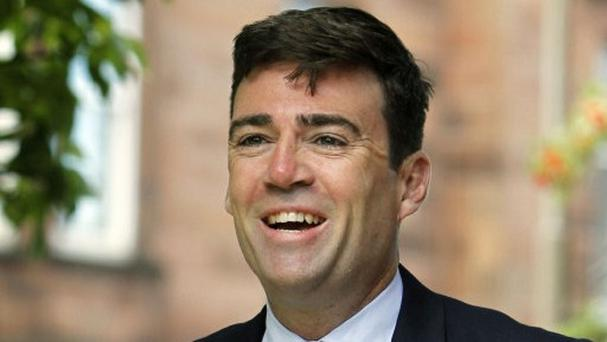 Labour leadership hopeful Andy Burnham said councils should control the benefits budget.