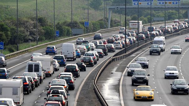 The worst congestion will be on Friday evening, the AA predicted