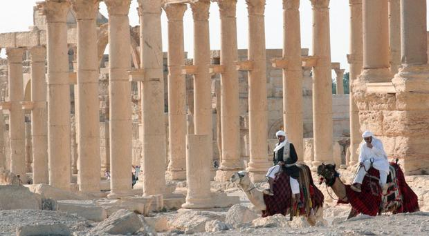 Palmyra is listed as a Unesco World Heritage Site
