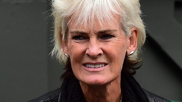 Plans in ruin: Judy Murray