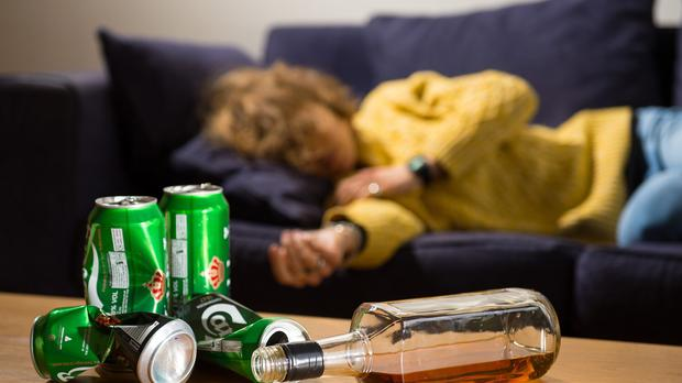 Hangover: High levels of a toxin called acetaldehyde, which make you feel tired and run down