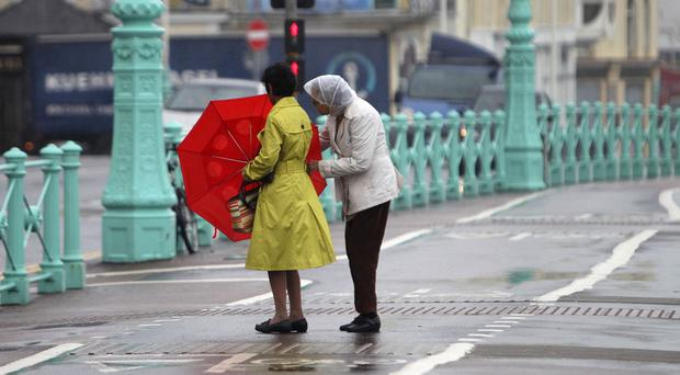 The Met Office has issued a yellow weather warning
