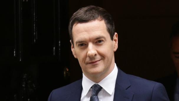 Chancellor George Osborne is visiting Scotland today