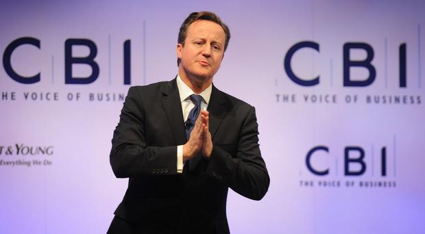 David Cameron said bosses could be barred from acting as directors if they did not pay the new national living wage