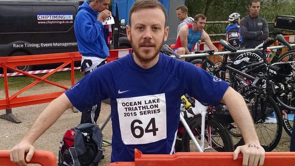 Paul Gallihawk, 34, who died during a triathlon event in Kent at the weekend (Kent Police/PA)