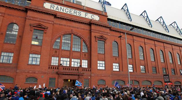 Former Rangers chief executive Charles Green is being questioned by police