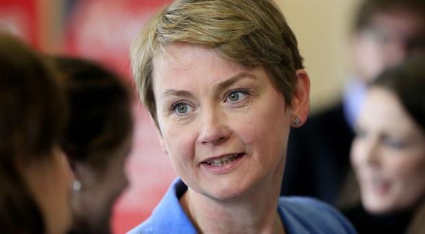Yvette Cooper said the failure to offer sanctuary to people trying to escape the