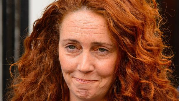Rebekah Brooks, who has been confirmed as chief executive officer of News UK with Tony Gallagher becoming editor-in-chief of The Sun.