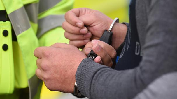The pair were detained at an address in Sparkbrook, Birmingham