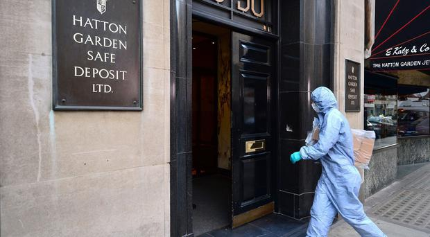 The Hatton Garden Safe Deposit raid saw thieves break into the vault and ransack 73 safety deposit boxes