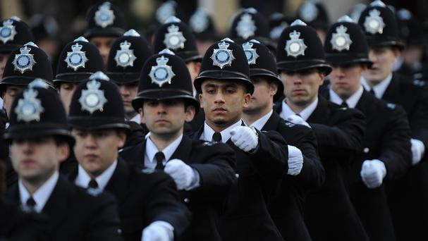 Police officer numbers could fall below 100,000 by 2019/20, according to the APCC