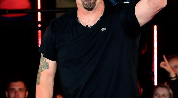 Evicted: Daniel Baldwin last night
