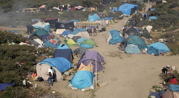 Britons are delivering supplies to migrants living in a Calais camp