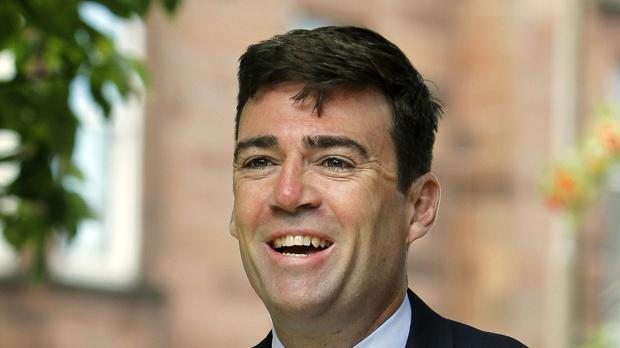 Labour leadership hopeful Andy Burnham said he can provide 'credible change'