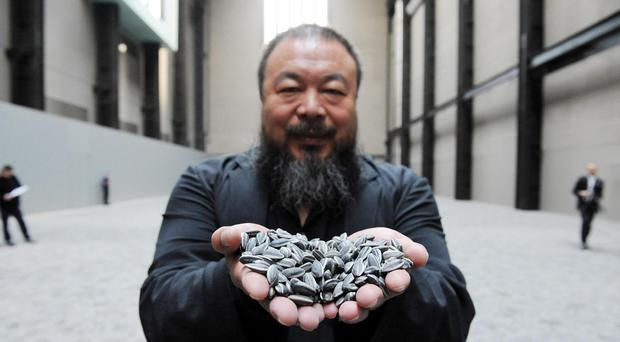 Ai Weiwei hailed Germany's handling of the refugee crisis