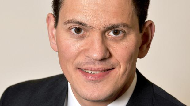 David Miliband attacked the Government for only agreeing to resettle 20,000 refugees over the next four and a half years