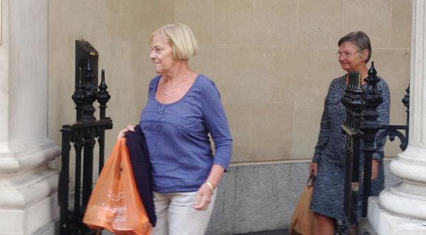 Susan Crane (left) and Mary Nash, seen here leaving Bristol Crown Court, were jailed for six months in October 2014 after admitting operating and promoting the scheme