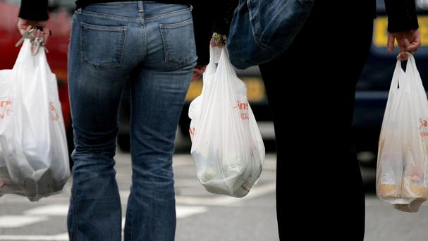 The number of single-use plastic bags handed out by UK supermarkets increased for the fifth year running to 8.5 billion