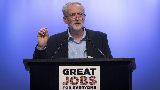 Jeremy Corbyn told the TUC that ministers were declaring war on workers