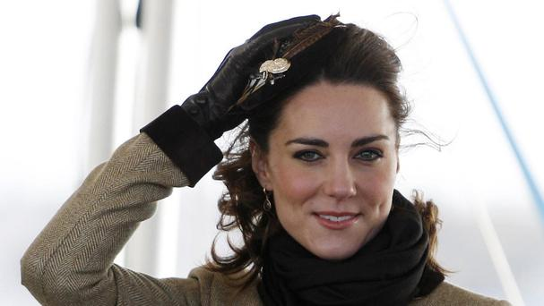 The Duchess of Cambridge is making her first solo public engagement since the birth of Princess Charlotte