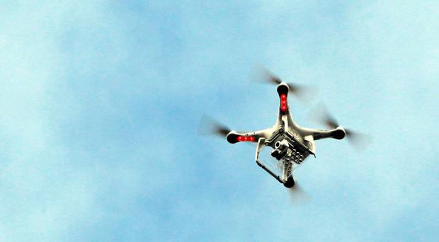 Drones are a potential threat to even the highest security prisons, an expert warned