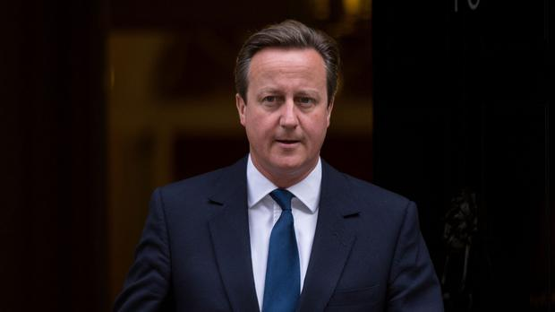 Prime Minister David Cameron visited the scene of the Shoreham air disaster