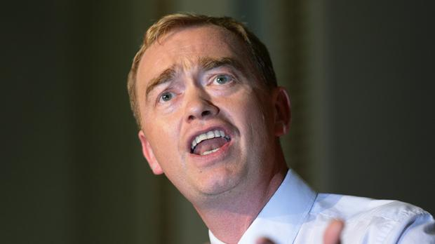 Liberal Democrat leader Tim Farron is hoping to attract unhappy Labour voters