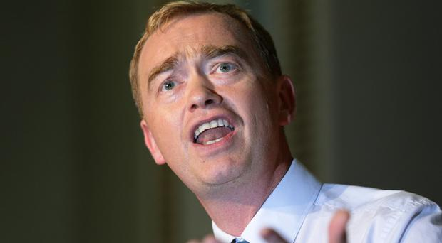 Liberal Democrat leader Tim Farron criticised the Government's response to the refugee crisis