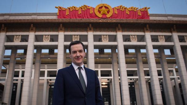 George Osborne is visiting China