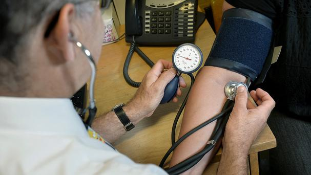 The NHS Health Check takes place at the GP surgery