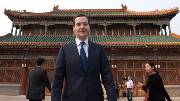 George Osborne is trying to woo Chinese business during his tour