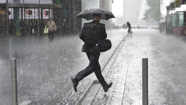 Bookies have slashed odds of Britain having its wettest ever autumn
