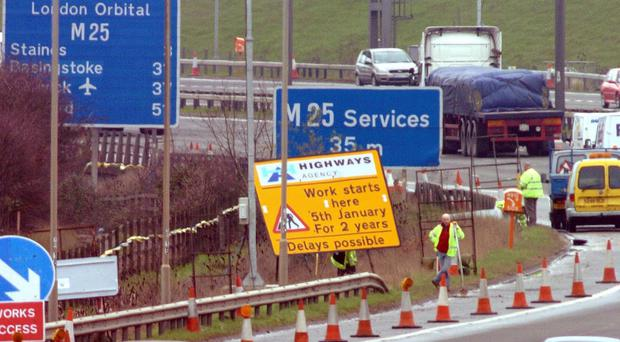 Plans to cut back congestion caused by roadworks on England's motorways have been unveiled