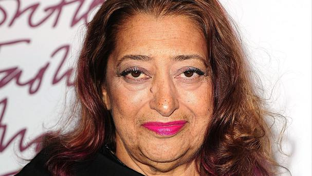 Zaha Hadid was personally approved by the Queen for the award